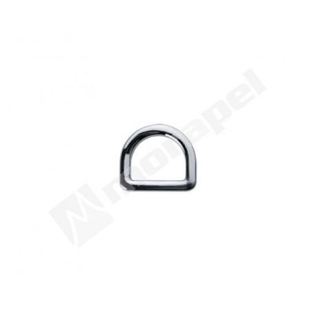 PÓŁKÓŁKO METALOWE H 351/10 NIKIEL 10 mm ODLEW