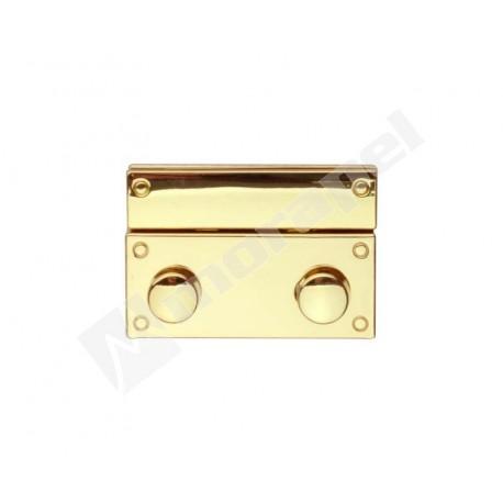 ZAMEK H 675/40 KOLOR ZŁOTY REAL GOLD